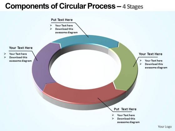 PowerPoint Templates Business Of Circular Ppt Themes