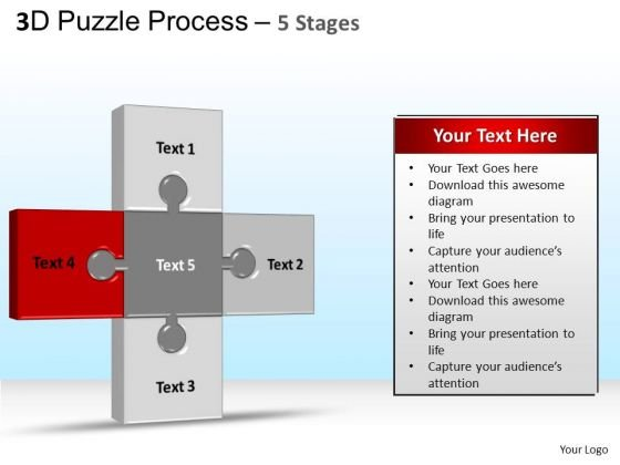 PowerPoint Templates Business Puzzle Ppt Backgrounds
