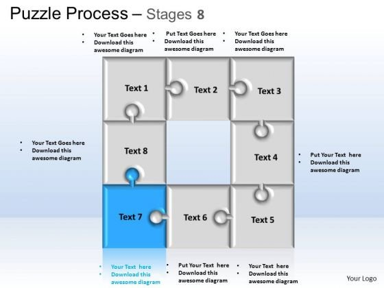 PowerPoint Templates Business Puzzle Process Ppt Process