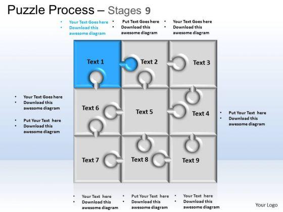PowerPoint Templates Business Puzzle Process Ppt Theme
