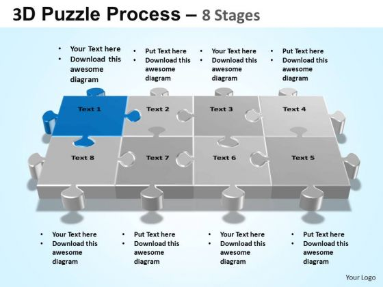 PowerPoint Templates Business Puzzle Process Ppt Themes