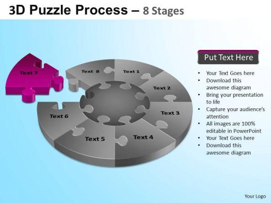 PowerPoint Templates Business Puzzle Segment Pie Chart Ppt Designs