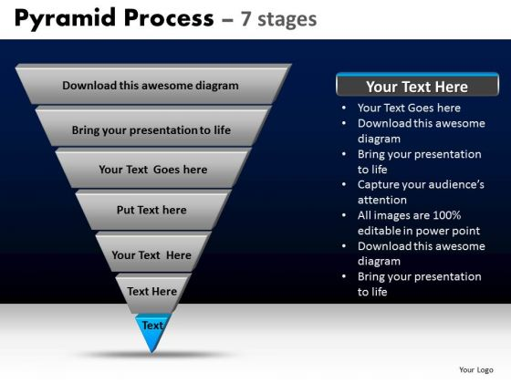 PowerPoint Templates Business Pyramid Ppt Process