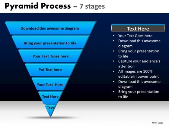 PowerPoint Templates Business Pyramid Process Ppt Design Slides