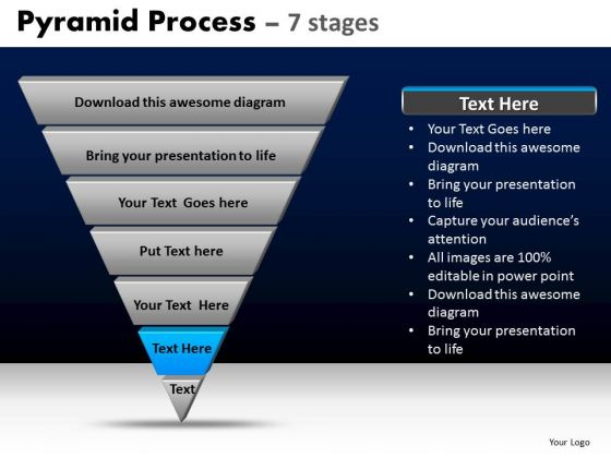 PowerPoint Templates Business Pyramid Process Ppt Presentation Designs