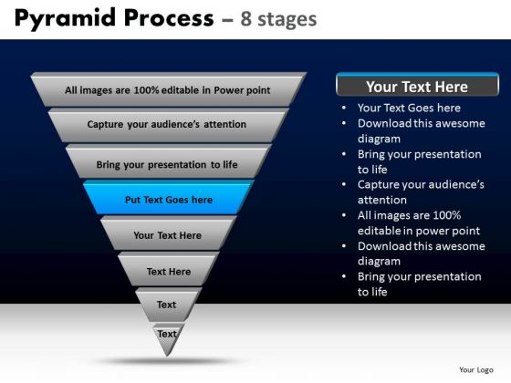PowerPoint Templates Business Pyramid Process Ppt Slide