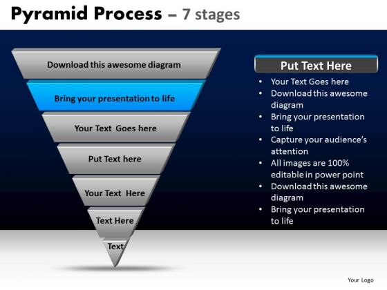 PowerPoint Templates Business Pyramid Process Ppt Slides