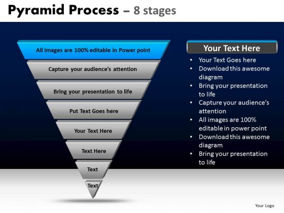 PowerPoint Templates Business Pyramid Process Ppt Template