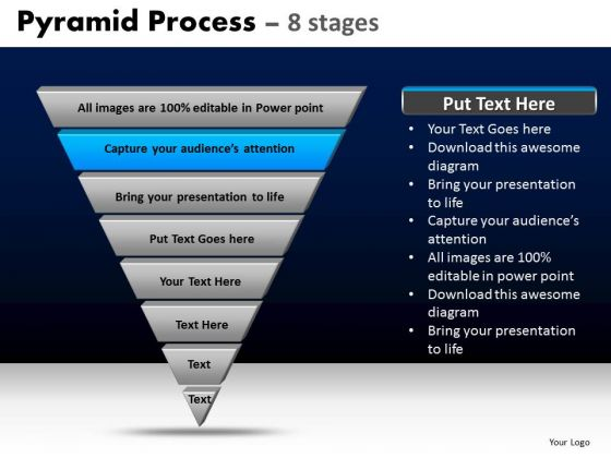 PowerPoint Templates Business Pyramid Process Ppt Theme