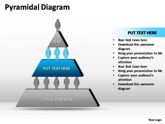 PowerPoint Templates Business Pyramidal Diagram Ppt Slide