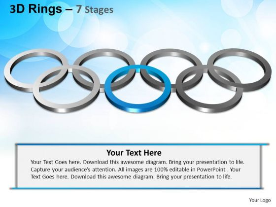 PowerPoint Templates Business Rings Ppt Layout