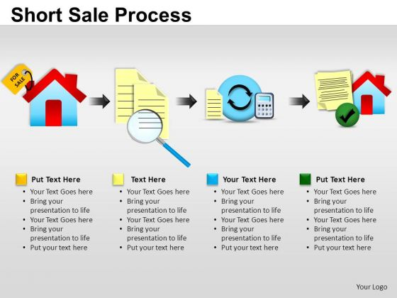 PowerPoint Templates Business Short Sale Process Ppt Themes