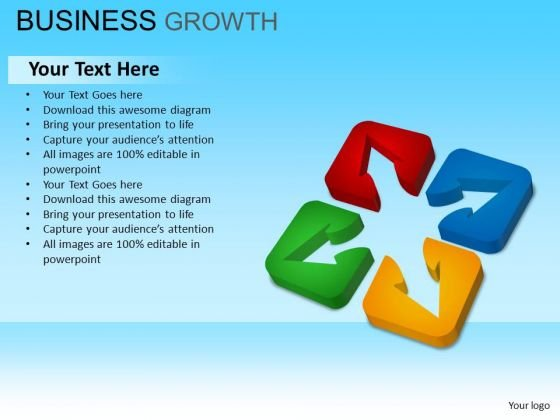 PowerPoint Templates Business Stragety Business Growth Ppt Designs