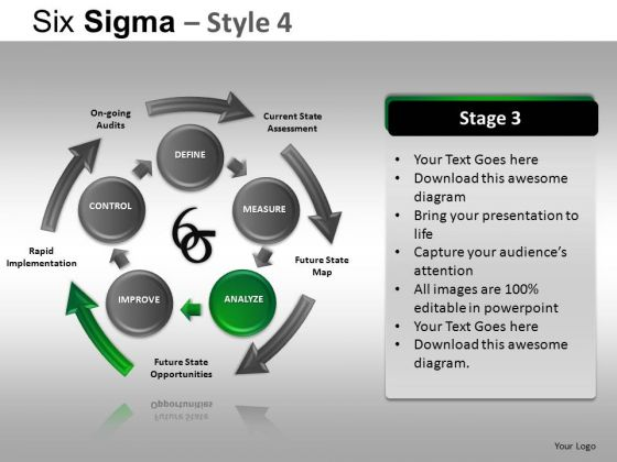 PowerPoint Templates Business Success Six Sigma Ppt Designs