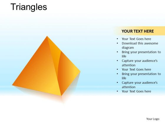 PowerPoint Templates Business Teamwork Pyramid Triangles Ppt Design