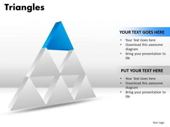 PowerPoint Templates Business Triangles Ppt Themes