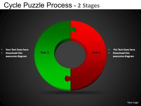 PowerPoint Templates Circle Chart Cycle Diagram Puzzle Ppt Themes