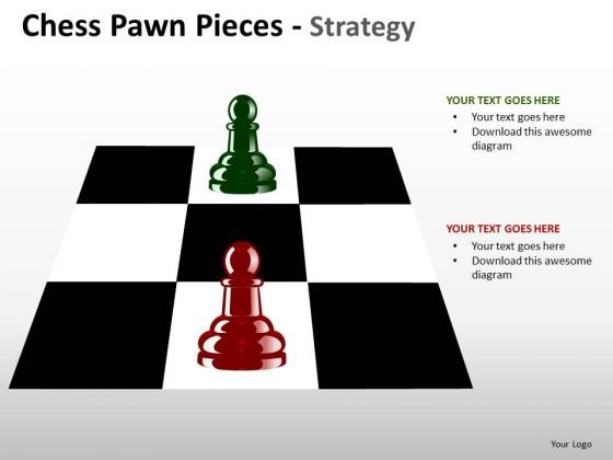 PowerPoint Templates Company Chess Pawn Ppt Presentation