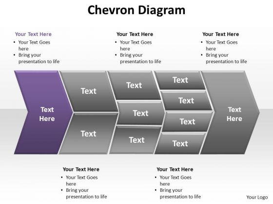 PowerPoint Templates Company Chevron Diagram Ppt Presentation
