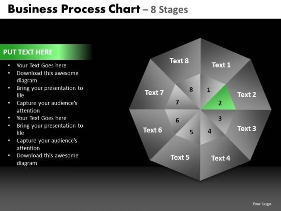 PowerPoint Templates Company Quadrant Diagram Ppt Themes