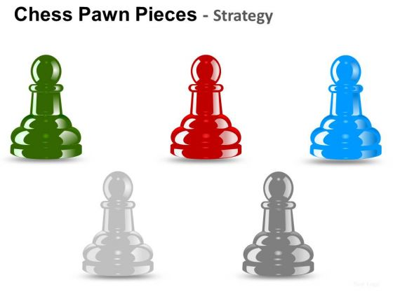 PowerPoint Templates Company Success Chess Pawn Ppt Themes