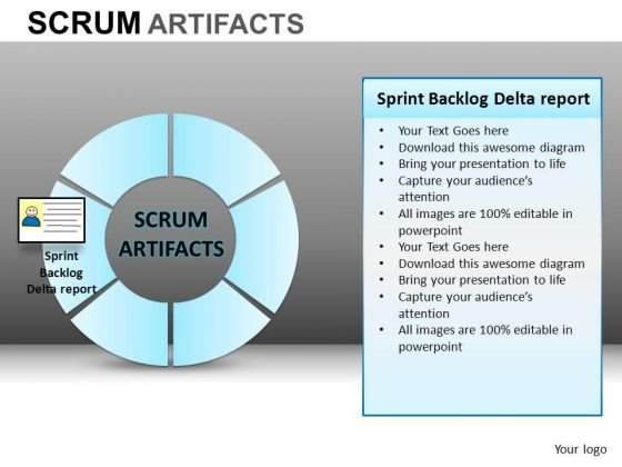 PowerPoint Templates Corporate Competition Scrum Process Ppt Slide