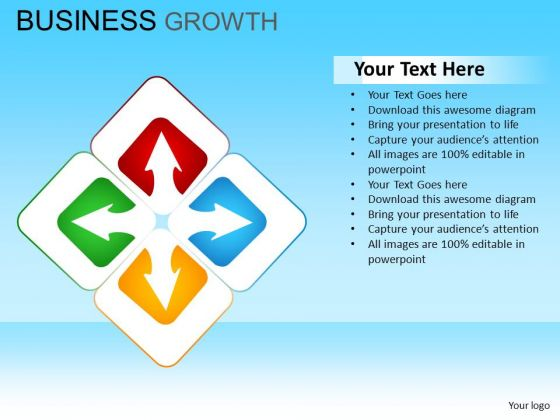PowerPoint Templates Corporate Designs Business Growth Ppt Slides