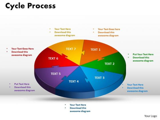 PowerPoint Templates Cycle Process Company Ppt Presentation
