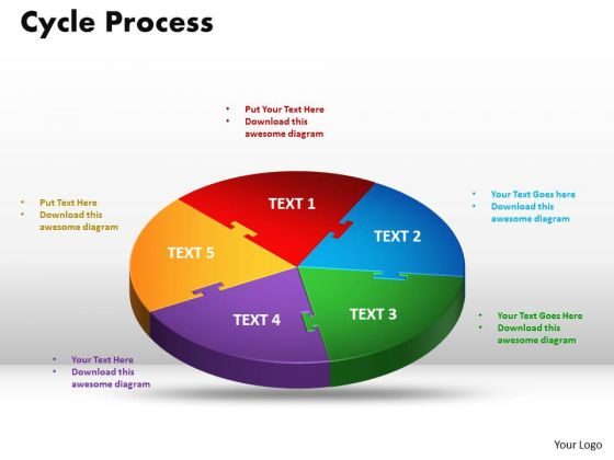 PowerPoint Templates Cycle Process Ppt Backgrounds