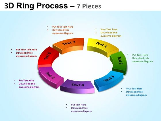 PowerPoint Templates Cycle Process Ring Process Ppt Presentation