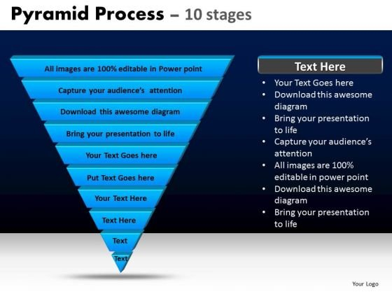 PowerPoint Templates Diagram Pyramid Process Ppt Layouts
