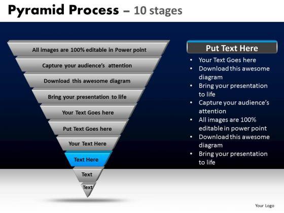 PowerPoint Templates Diagram Pyramid Process Ppt Presentation Designs