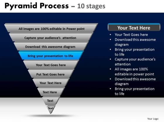 PowerPoint Templates Diagram Pyramid Process Ppt Template