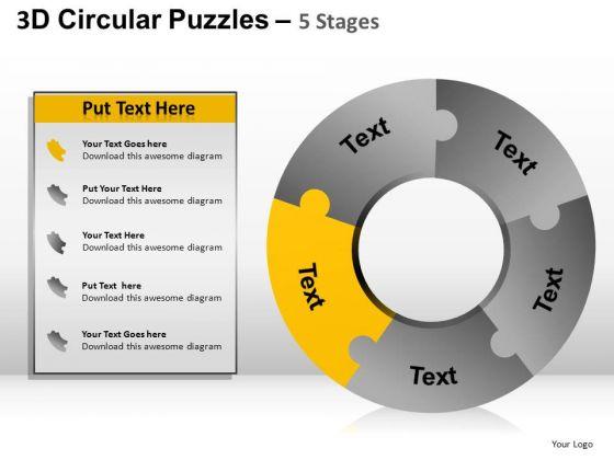 PowerPoint Templates Donut Diagram Ppt Designs