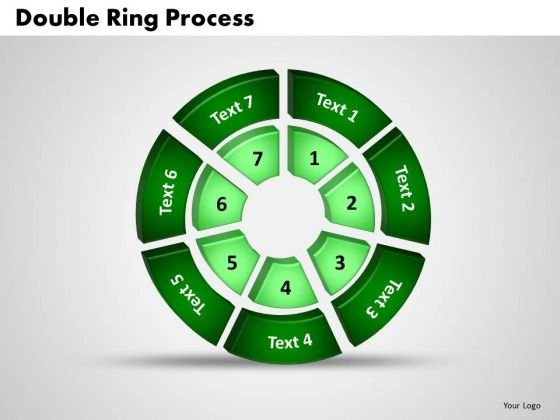 PowerPoint Templates Double Ring Marketing Ppt Slides
