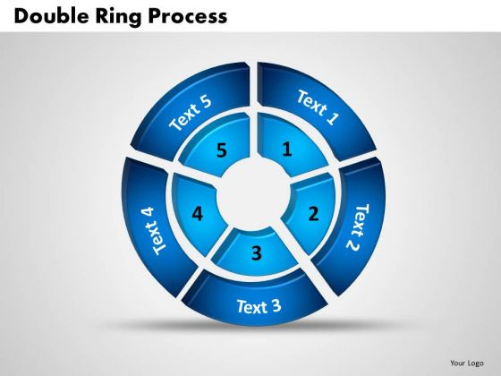 PowerPoint Templates Double Ring Success Ppt Design