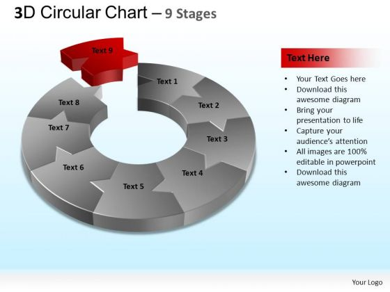 PowerPoint Templates Download Circular Chart Ppt Backgrounds