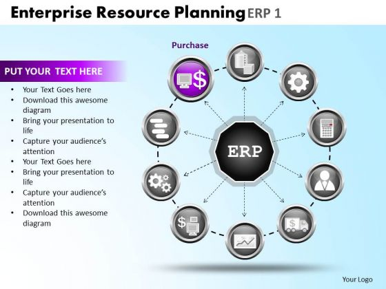 PowerPoint Templates Editable Enterprise Resource Ppt Theme