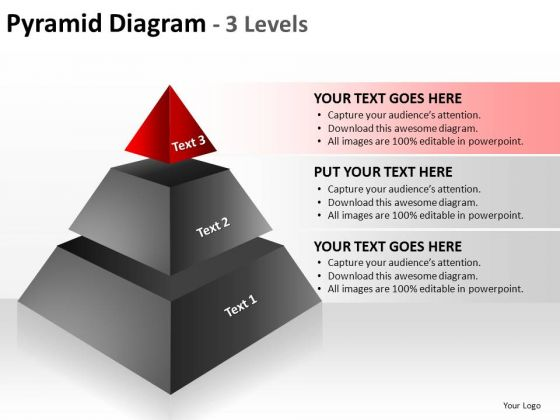 PowerPoint Templates Editable Pyramid Diagram Ppt Design