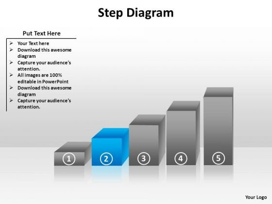 PowerPoint Templates Editable Step Diagram Ppt Presentation