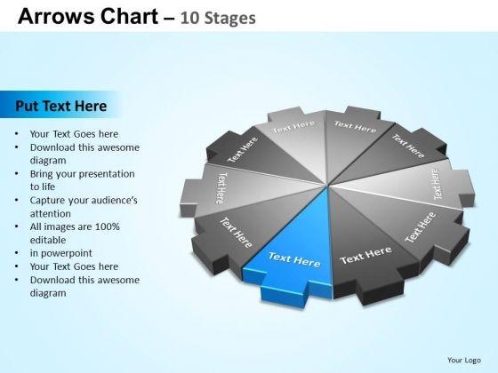 PowerPoint Templates Education Arrows Chart Ppt Slide Designs