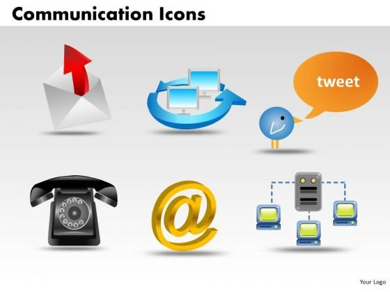 PowerPoint Templates Education Communication Icons Ppt Presentation Designs