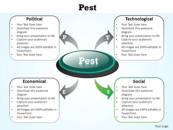 pest analysis e business