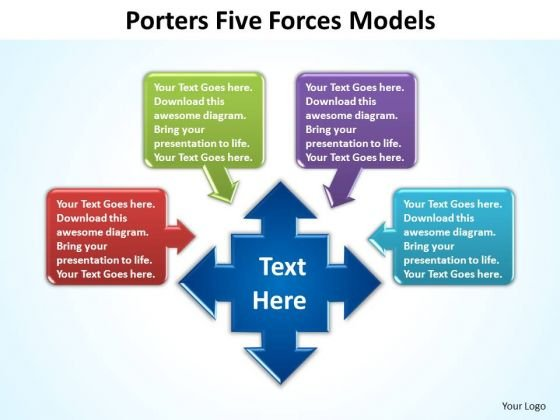 PowerPoint Templates Education Porters Forces Ppt Slides