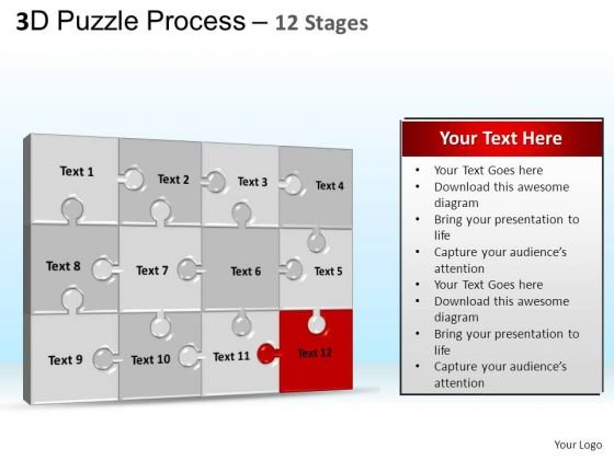 PowerPoint Templates Education Puzzle Process Ppt Designs