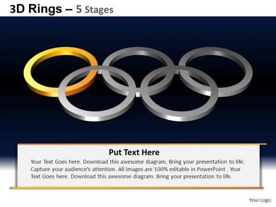 PowerPoint Templates Education Rings Ppt Presentation