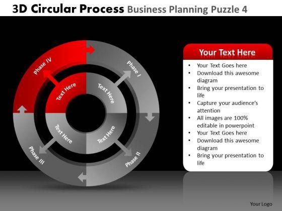 PowerPoint Templates Executive Leadership 3d Circular Chart Process Ppt Process