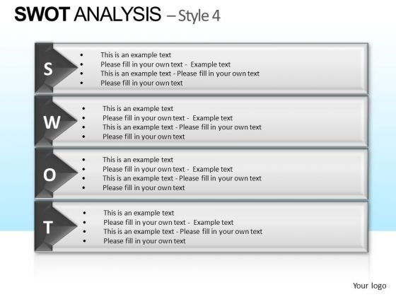 PowerPoint Templates Executive Success Swot Analysis Ppt Template