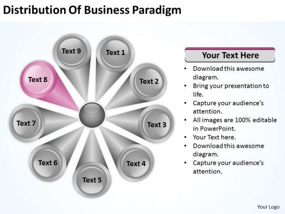Powerpoint Templates Free Download Paradigm 9 Stages Business Plan