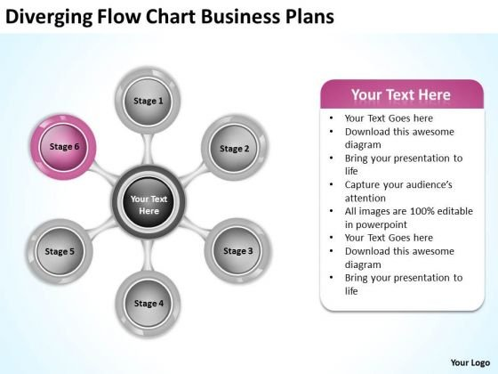 PowerPoint Templates Free Download Plans 6 Stages Business Slides